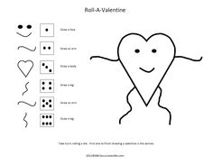 Roll-a-Valentine Game