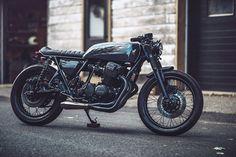 Honda CB750 Cafe Racer by Clockwork Motorcycles #motorcycles #caferacer #motos | caferacerpasion.com
