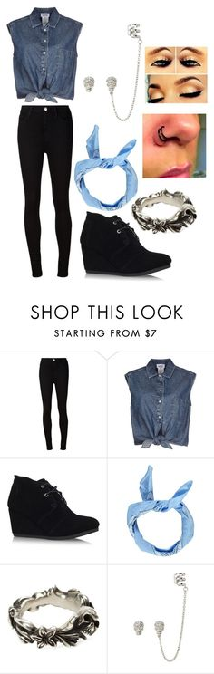 """""""Untitled #120"""" by sportsgirl-i ❤ liked on Polyvore featuring AG Adriano Goldschmied, Jean-Paul Gaultier, TOMS, Boohoo and Werkstatt:München"""