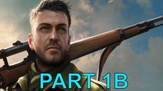 Sniper Elite 4 campaign gameplay walkthrough Part 1 B