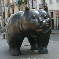 Cat (Rambla de El Raval, Barcelona), Fernando Botero