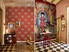 By Floor recebe coleção lúdica e campestre assinada pela artista Catalina Estrada