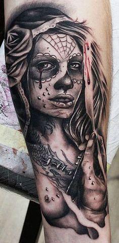 Tattoo Artist - Mikko Inksanity - Muerte tattoo