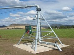 centre pivot point constructed in Australia #irrigationaustralia