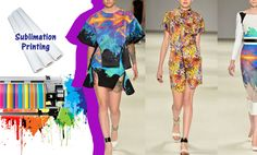 This beautiful clothes can be printed by sublimation paper