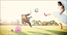 wedding photoshoot soccer - Google Search