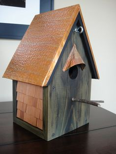 The Greenville Craftworks Artisan Series Sanctuary Birdhouse - ASBH-003. via Etsy.