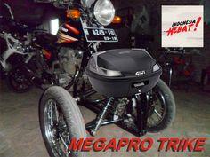 Honda Megapro Reverse Trike