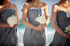 B2 Bridesmaids Dresses. Charcoal Bridesmaids. Grey Bridesmaids