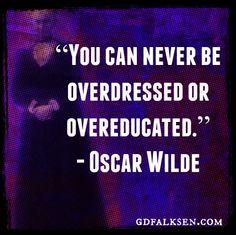 Oscar Wilde | gdfalksen.com