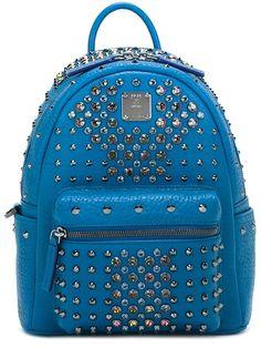 MCM studded mini backpack.  mcm  bags  leather  backpacks   7353793513581