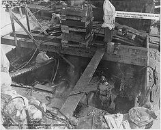 The USS Arizona salvage operations, still ongoing, sixteen months after the attack. Pearl Harbor Day, Pearl Harbor Attack, Naval History, Military History, Military Memes, Remember Pearl Harbor, Uss Texas, Uss Arizona, Us Navy Ships