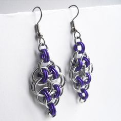 Chainmaille Earrings #dteam $15.00
