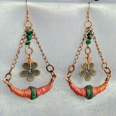 Boho earrings light, bold & beautiful 😊