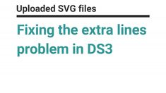 Fixing the extra cutting lines bug in SVG files in DS3. Find out more at www.facebook.com/groups/cricutexploreandmore