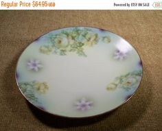 Silesien Germany Decorative Wall Plate Rare by SpringJewelryThings