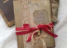 Halloween Party guest book  Haunted house by youruniquescrapbook