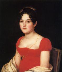 American Artist John Vanderlyn 1775-1852, Mary Scott Swan c1815