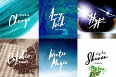 Introducing a lovingly handmade new typeface, Hello Stockholm! A fun and imperfect modern brushed script font with a tough of uniqueness driven by S...