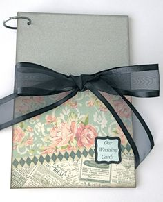 Wedding Card Album  Wedding Card Holder  by NellieandRuthDesigns, $20.00