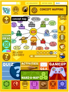 50+ CREATIVE USES FOR THE MAKE-A-MAP TOOL. BrainPOP's Make-A-Map ...