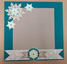 Stampin' Up!- 'Festive Flurry' set & coordinating framelits