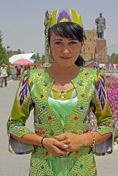 Uzbek Bride at Ak Saray Palace, Shakrisabz