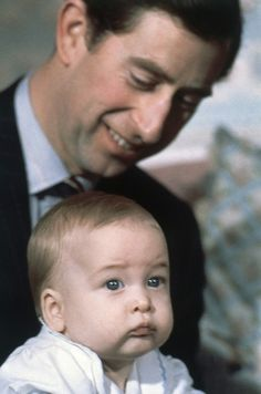 Charles and baby William