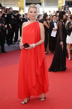 Did Anyone Else Feel The Supermodel Takeover At Cannes? #refinery29  http://www.refinery29.com/2016/05/110633/cannes-film-festival-best-dressed-2016#slide-5  Kate MossFor her first (epic) Cannes red carpet in 15 years, the British model kept it classic in this red Halston dress paired with Chopard jewelry....