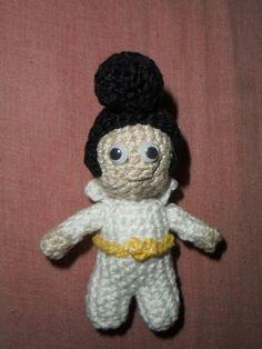 Mini Elvis Presley amigurumi