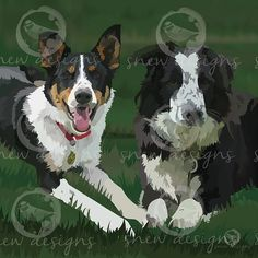 snewdesigns | Best Friends Dog Portraits, Cow, Best Friends, Animals, Digital, Beat Friends, Bestfriends, Animales, Animaux