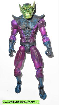 marvel legends SKRULL 2008 toys r us alien armies kree sentry pack