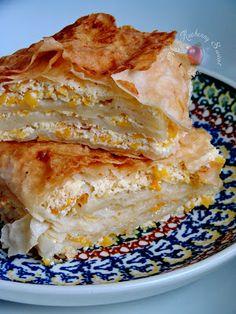 Mój kuchenny Świat: Pita z serem i dynią na słodko