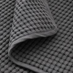 "VÅRELD Bedspread, dark gray, 91x98"" - IKEA Teen Blankets, Large Blankets, Single Size Bed, Double Bed Size, Boys Bedspreads, Gray Bedspread, Teen Girl Bedding, Dorm Bedding, Bedding Sets"