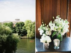 Gypsophila, A Couture Gown and Lots of Wedding Day Elegance...