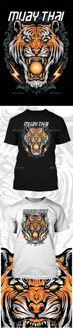 TIGER HEAD T-SHIRT - Sports & Teams T-Shirts