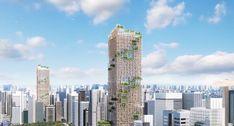 Всё больше архитекторов обращаются к дереву, как материалу для строительства небоскребов, и на это есть веские причины. Использование древесины вместо обычных строительных материалов сокращает выбросы углекислого газа, а соответственно уменьшает затраты на устранения последствий выбросов. Японские архитекторы хотят превратить современные города в деревянные леса, в буквальном смысле. Японская фирма Sumitomo Forestry представила свой проект самого высокого деревянного здания в мире…