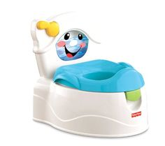 #baby The #learn to flush #potty has it all and is even more deluxe than our very popular cheer for me potty. The real fun is in the flushing action. When the chi...