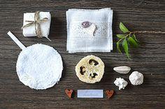 Home Spa gift kit  Lavender linen sachet / Face от pureWHITEspa