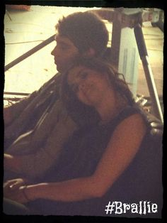 BRALLIE!!! I ship Callie and Brandon! But it's too late.... :(