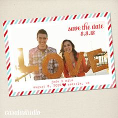 postcard save the date