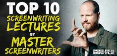 The ultimate list of FREE Screenwriting Lectures from Master Screenwriters at the top of their game.