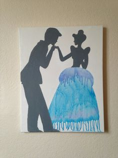 One of a kind Disney's Cinderella melted crayon by OakandIris, $25.00