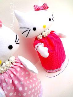 Hello Kitty Bonecas Mimos da Gil