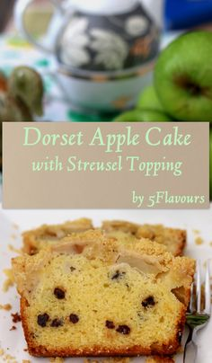 Even better than Apple Pie or Crumble. Perfect combination of cake and pie. Tea Loaf, Cooked Apples, Streusel Topping, Granny Smith, Apple Cake, Sour Cream, Tart, Muffin, Pie