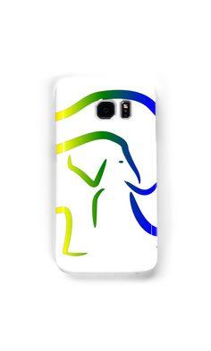 """Rainbow Elephant"" Samsung Galaxy Cases & Skins by RobinBCreative | Redbubble"