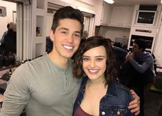13 reasons why cast katherine langford and brandon larracuente