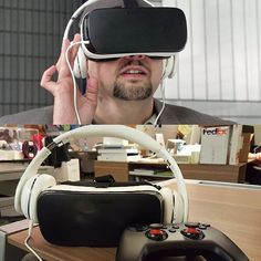 """An awesome Virtual Reality pic! Virtual reality is a realityin the sense that the hardware software and content stars are finally aligning to make the platform approachable to more than just hardcore developers gamers and hobbyists  Today the true consumer model of the Samsung Gear VR hits the shelves. The Gear VR costs $99 and requires Samsungs Galaxy S6 S6 Edge S6 Edge or Note 5 to run  Check out the """"window to the future"""" through the link in our bio #VR #virtualreality #SamsungGearVR…"""