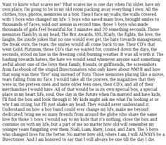 OMG IM CRYING RIGHT NOW. THIS IS SO BEAUTIFUL  #DirectionerForLife❤