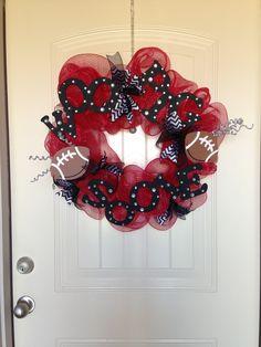 Arkansas Razorbacks wreath